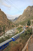 We arrived in the little town of Piscacucho where our train was waiting along the Urubamba River.
