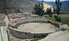 We passed a small bull fight ring, this one in Ollantaytambo.