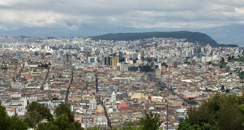 Quito, from El Panecillo