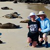 Craig, Jeane and sea lions