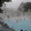 We got a soak for an hour at the Papallacta Hot Springs. LOVELY! It had been a cold morning during which I really wished I'd packed mittens.