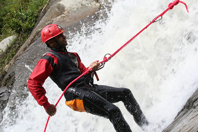 they call this canyoning