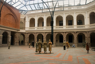 Coutyard of the Museum