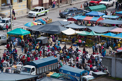 Sunday Market in Alausí, Ecuador