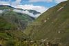 Train ride through the Ecuadorian Andes