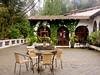 San Jorge Lodge courtyard