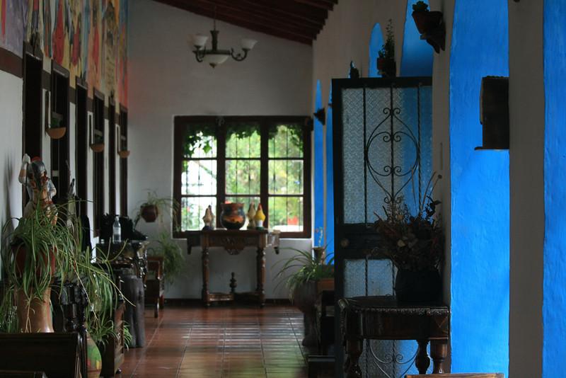 Inner corridor- San Jorge Hosteria