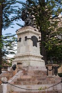 Abdón Calderón Monument in Cuenca