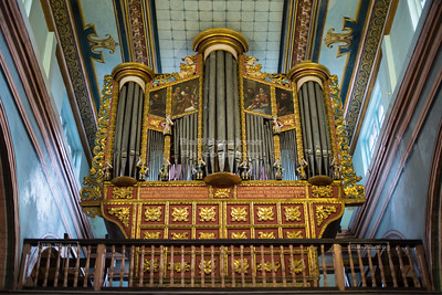 Organ in the Old Cathedral of Cuenca