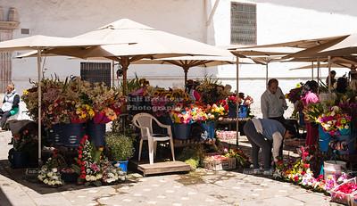 Flower Market in Cuenca, Ecuador
