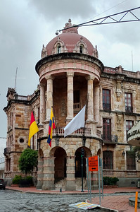 City Hall in Cuenca, Ecuador