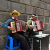 Buskers in Quito
