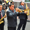 Brass section of the street parade