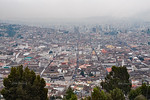 View over Quito from El Panecillo