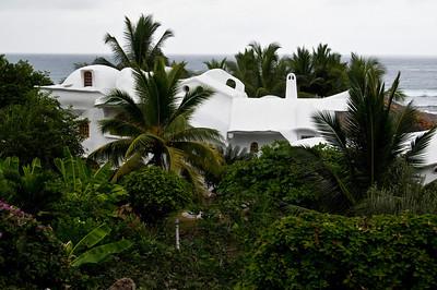 funky coastal house
