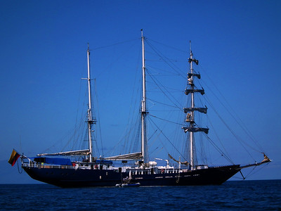 The clipper ship/ engine driven Mary Anne