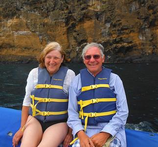 Just before kayaking