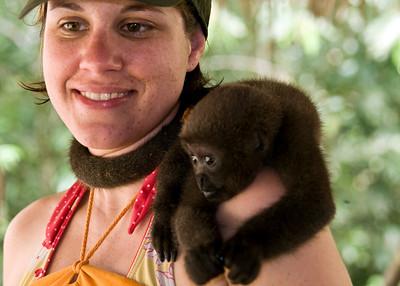 baby woolly monkey