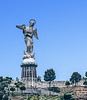 • Location - Quito, Ecuador<br /> • Old Quito Virgin Mary Close Up On El Panecillo