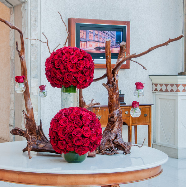 • Location - Quito, Ecuador<br /> • Fabulous flower arrangements that we saw around our hotel.