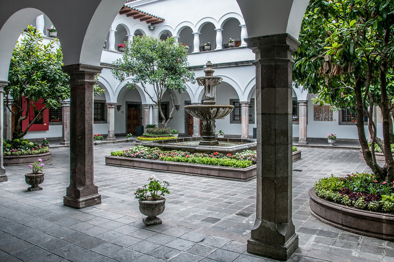 • Location - Quito, Ecuador<br /> • Presidential Palace