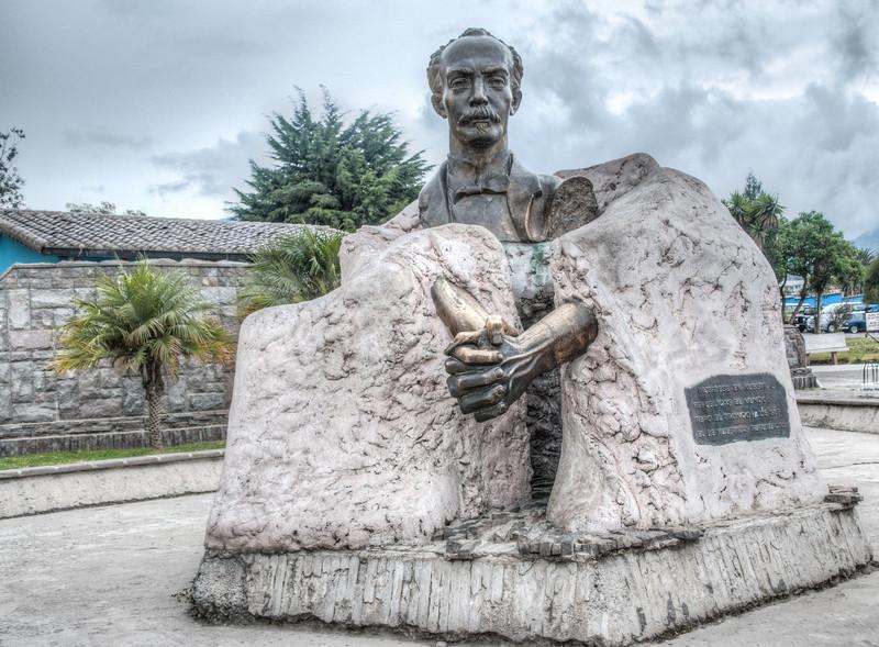 • Location - Quito, Ecuador<br /> • Interesting Looking Statue