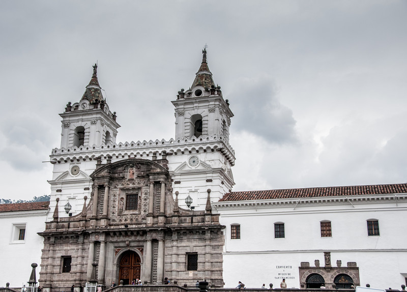 • Location - Quito, Ecuador<br /> • De San Francisco Church