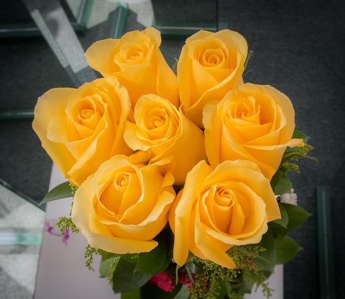 • Location - Quito, Ecuador<br /> • Captivating flower arrangements Sandy and I saw at this Florist Shop.