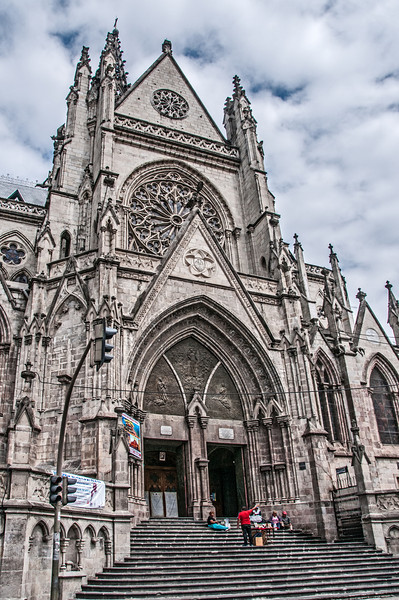 • Location - Quito, Ecuador<br /> • La Basilica Church