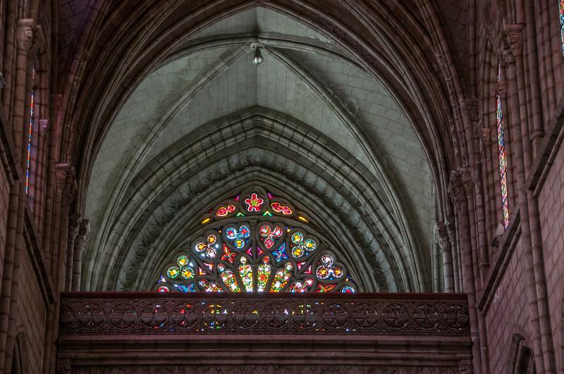 • Location - Quito, Ecuador<br /> • La Basilica Church