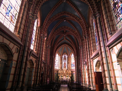 The main side chapel