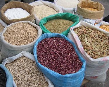 Seeds. Otavalo, Ecuador.