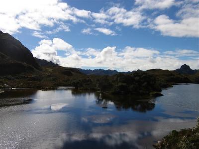 Parque Nacional Cajas. Cuenca, Ecuador.