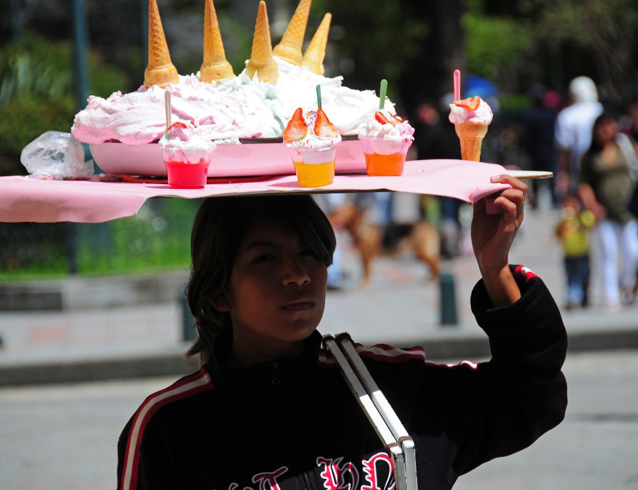 'Ice cream Head', Cuenca