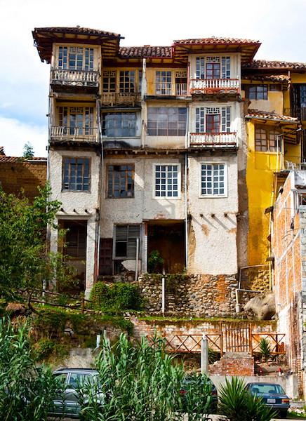 Barranco House, Cuenca, Ecuador