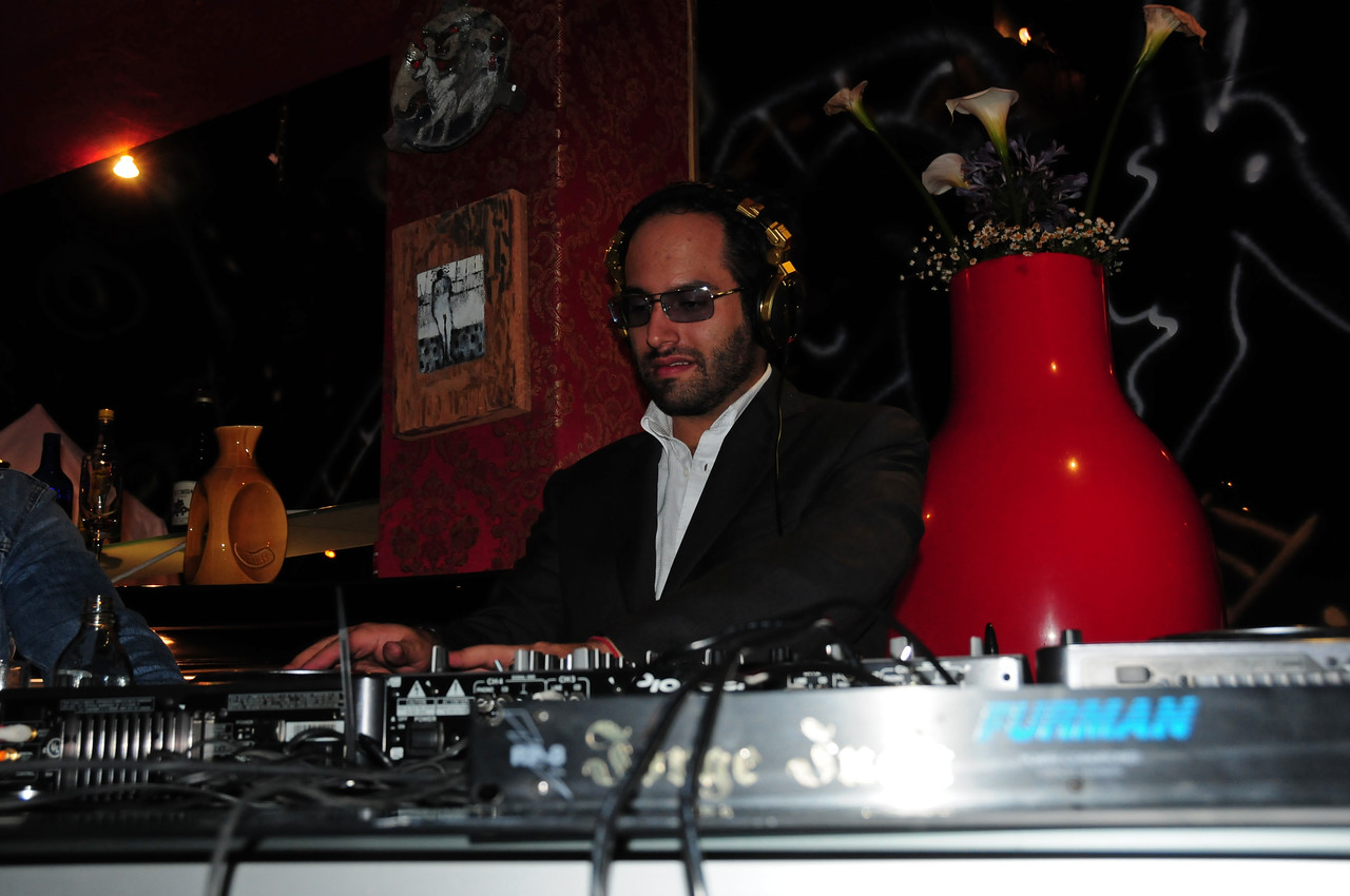 At the home of Jorge Juan Jervis. aka Duke J (DJ) in Cuenca