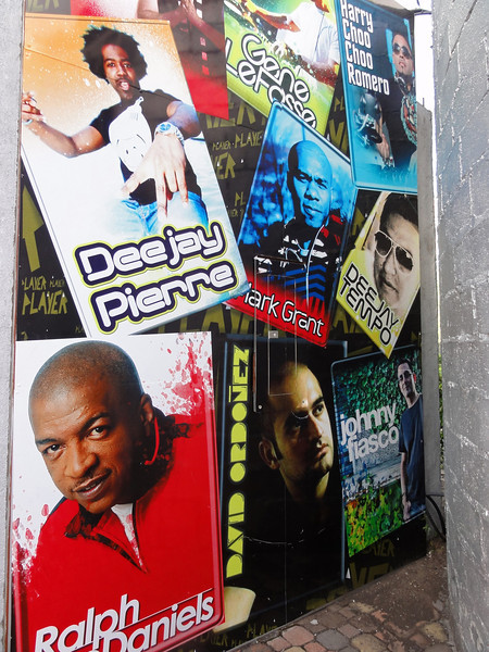 Some of the International DJ's that have played ay Parque Extremo