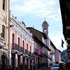 The streets of Quito, Ecuador