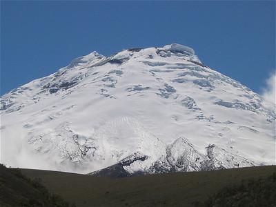 Volcan Cotopaxi. Ecuador.