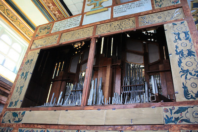 275-year-old organ in Catedral Sagrario