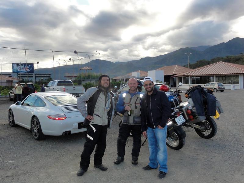 Saburo, Adam & Jorge Juan at Parque Extremo