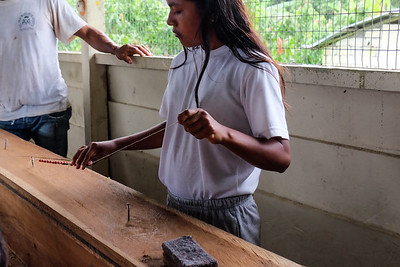 Jewelry making.