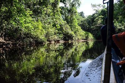 Heading to the Sapococha Lagoon.