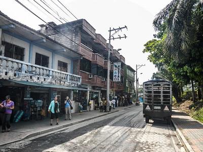 Walking the streets of Coca City - Ecuador.