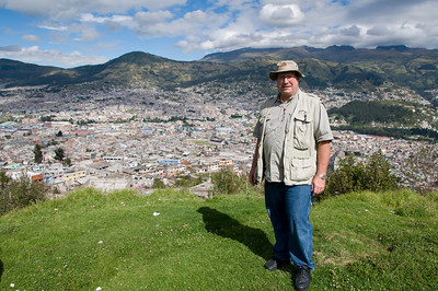 Me at the overlook at Quito