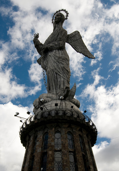 Panecillo Monument (Angel statute overlooking Quito)