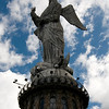 Panecillo Monument (Angel statute overlooking Quito)