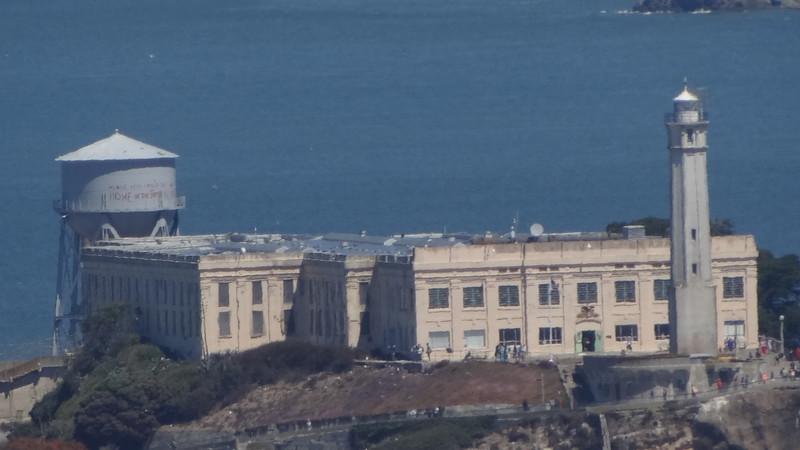 Close ups Alcatraz