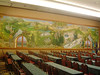 Bavarian mural in conference room of Edelweiss Lodge