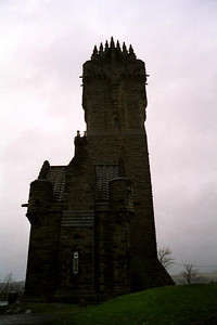 The William Wallace monument.